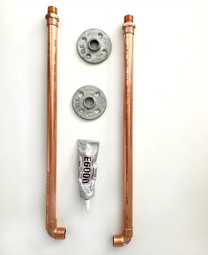 How to Make a Copper Pipe Shower Curtain Rod