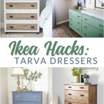 Update an Ikea Tarva dresser or nightstand for a completely custom look.