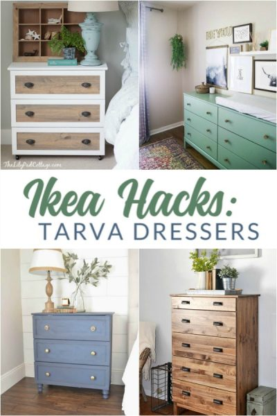 Update an Ikea Tarva dresser or nightstand for a completely custom look.