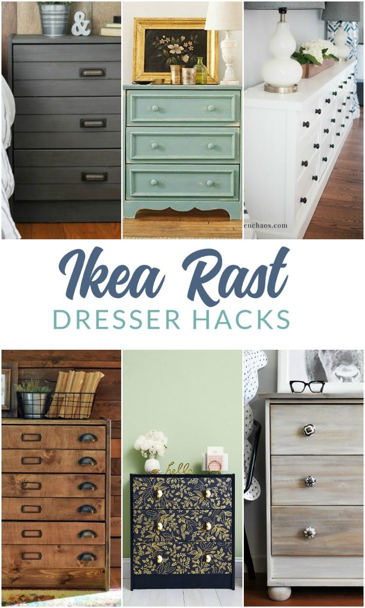 Ikea Rast Hacks - Ikea Rast dresser updates, makeovers, and hacks.