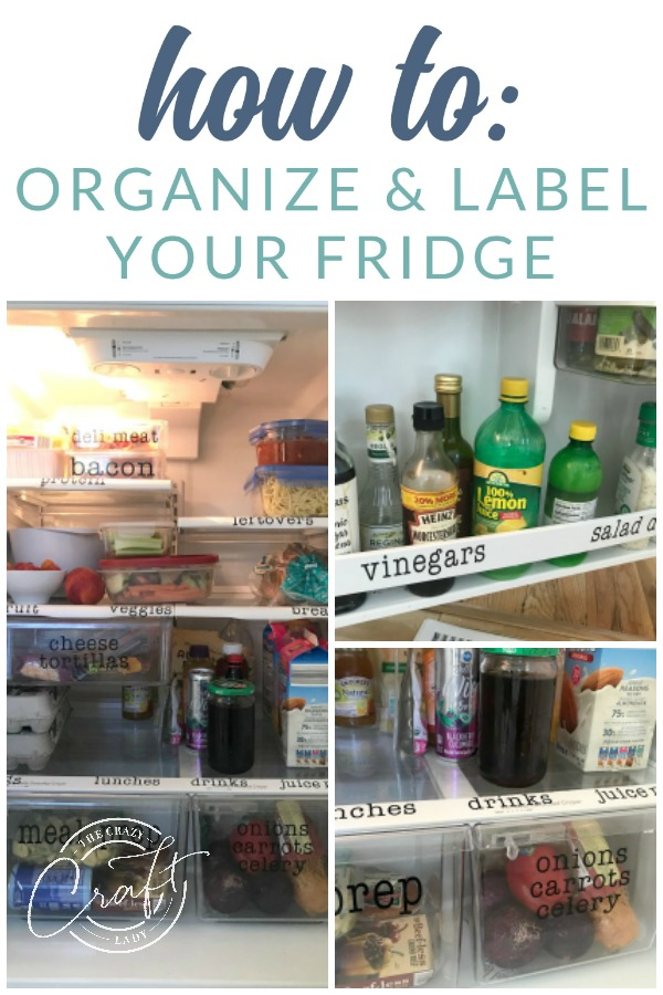 How to design your own custom DIY fridge labels (or just download and print the pre-made ones I designed for you), and finally get your fridge organized once and for all!
