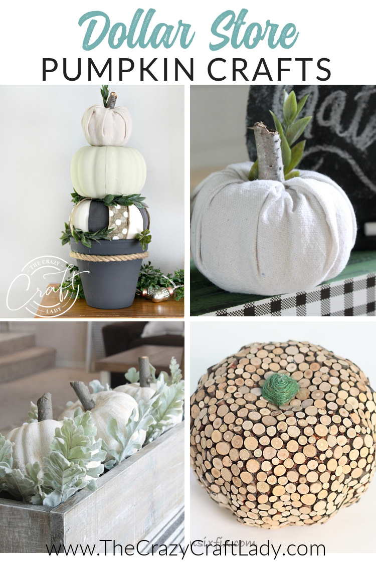 12 inspiring Dollar Store Pumpkin craft projects for fall. Try out one of these great DIY decorated pumpkin ideas to get into the fall spirit.