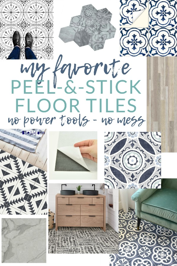 Flooring can be expensive and messy to install. Give vinyl floor tile a try for a mess-free, quick, easy, and inexpensive flooring solution. Just cut, peel, and stick them in place! No special tools required.