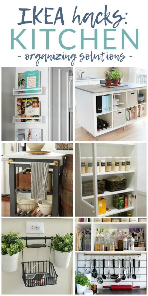 Ikea Kitchen Organizing Hacks 10 Genius Ideas The Crazy Craft Lady
