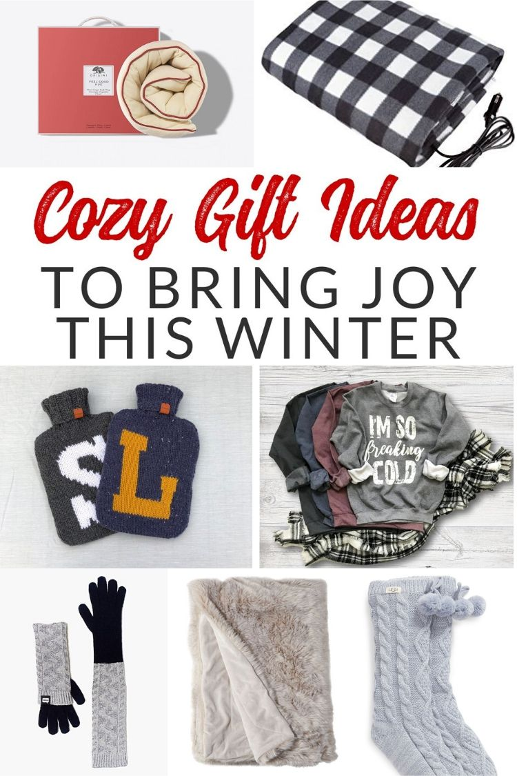 Do you know someone who is always cold? Check out these fabulous cozy gifts that are sure to bring joy and keep their recipients warm all winter.