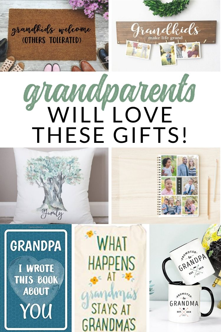 Gift Ideas For Grandma And Grandpa Favorite Grandparent Gifts The Crazy Craft Lady