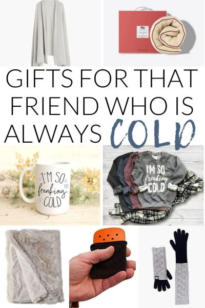 Gifts for peopple who are always cold - the perfect cozy gift ideas to keep warm all winter long