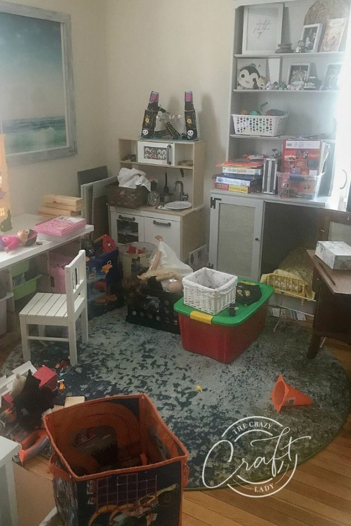 Our Very Messy Playroom Situation - and Why I took my kids' toys away for Christmas