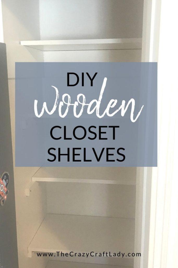 DIY Cleat Shelves - The Easiest Closet Shelves Ever