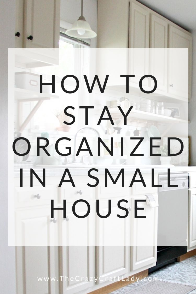 Here are my top 7 tips to help you organize a small house - how to organize and create a cozy and beautiful home without drowning in clutter
