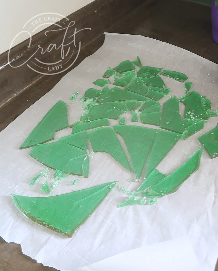 cracked sea glass candy
