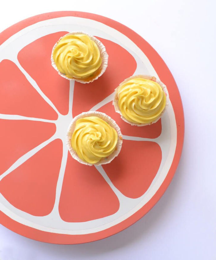 Citrus Grapefruit Lazy Susan