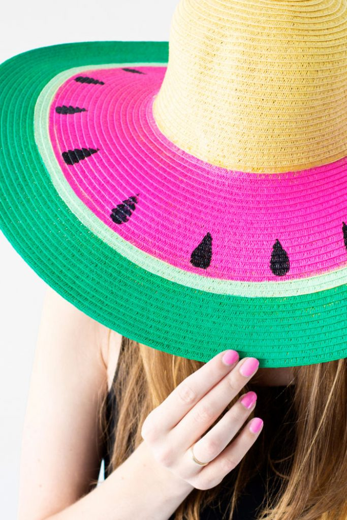 DIY Watermelon Hat