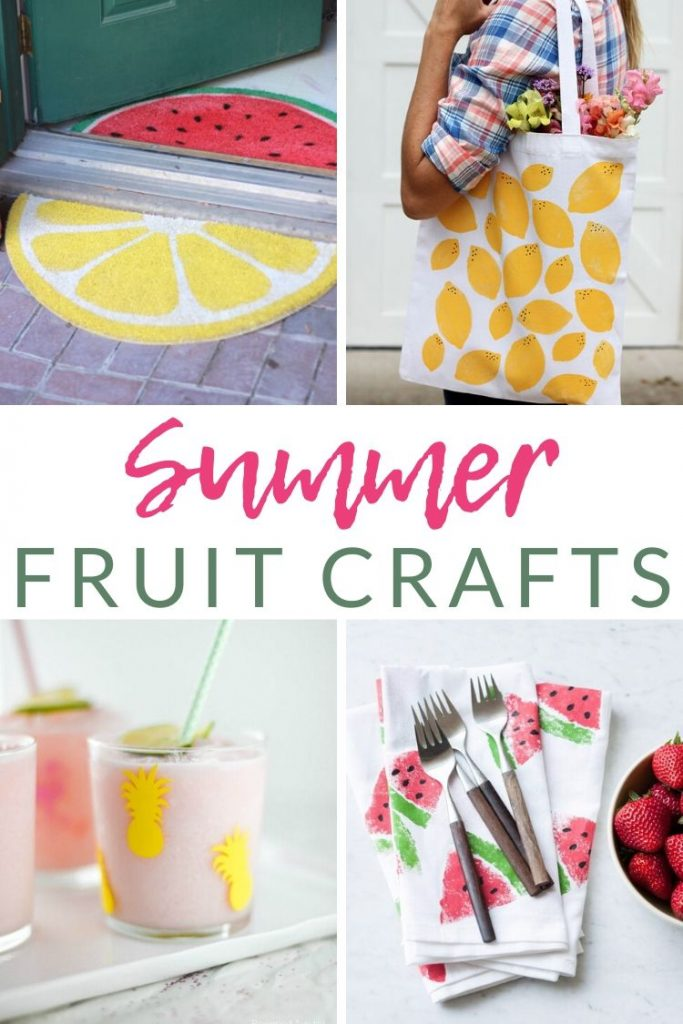 Summer is here, and that brings some of the freshest, most delicious produce of the year. Celebrate fresh summer fruit with these fruit-themed crafts and DIY ideas. From clothing to decor, and everything in-between, there are summer fruit crafts for DIY-ers of all ages to enjoy!