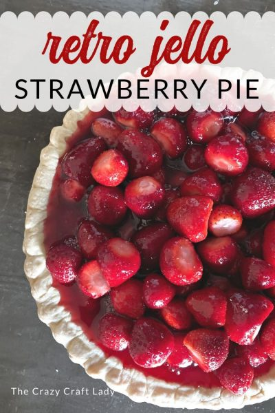 Packed with fresh summer flavor and nostalgic memories, I'm sharing my grandma's retro recipe for strawberry pie with jello. With just a few simple ingredients, you can whip up a fresh cold pie that is sure to please.