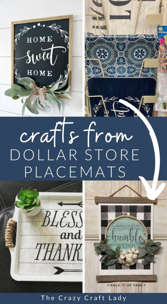 Crafts with Dollar Store Placemats