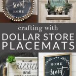Who would have thought you could craft with basic kitchen items like placemats? Check out these surprising dollar store placemat crafts that are totally genius.