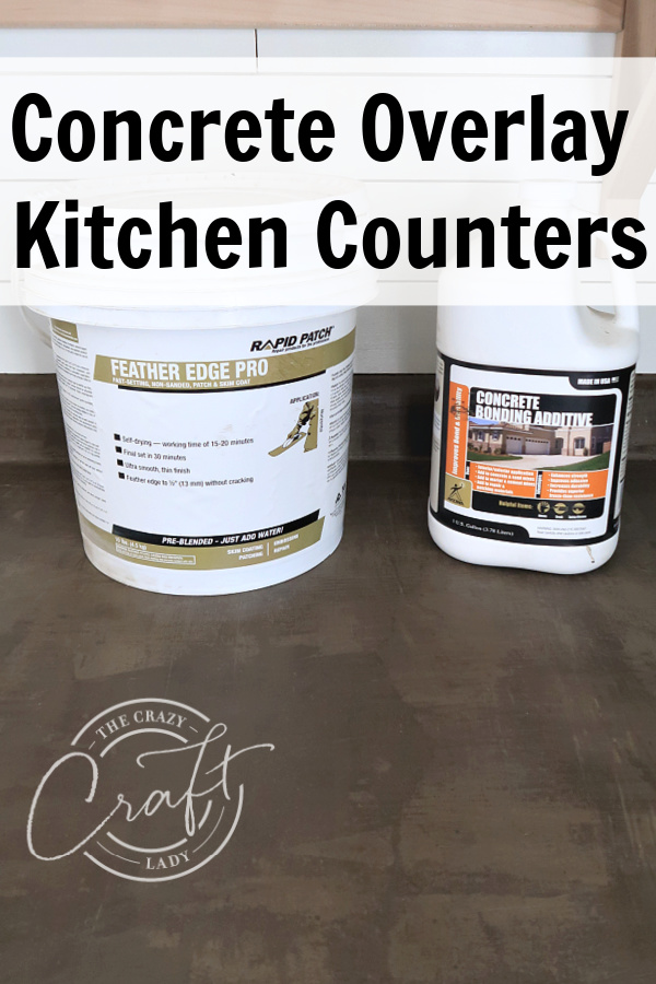 See how I transformed my dated kitchen with skim coat concrete counters. This DIY decor project can easily be completed in just a weekend.