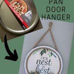 Diy Pizza Pan Door Hanger Dollar Store Craft The Crazy Craft Lady