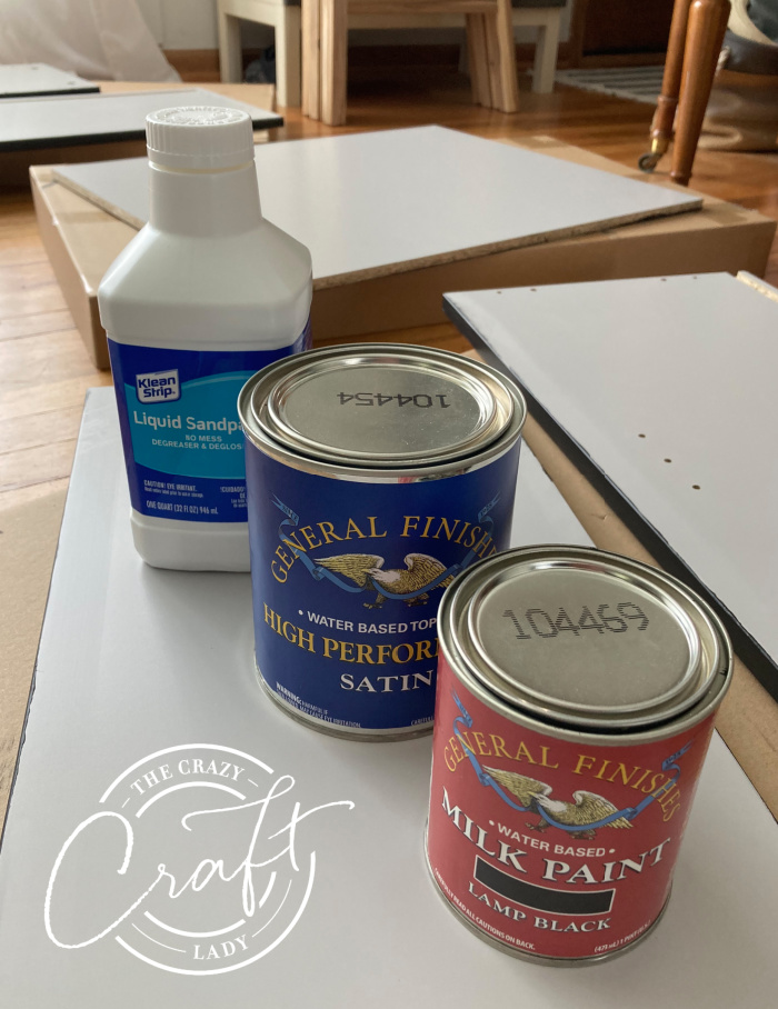 Supplies Needed to Paint Laminate Furniture