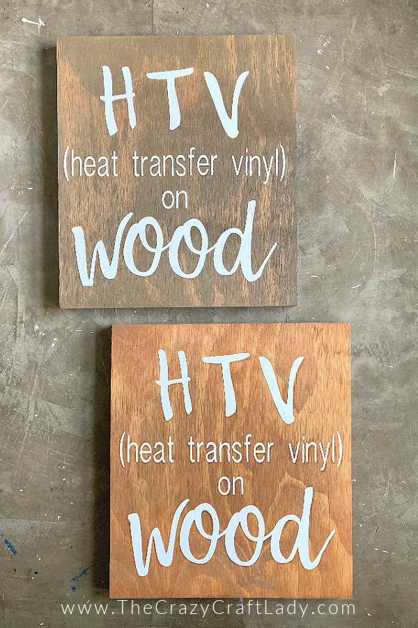 Do you want to use HTV on wood, but don't know where to start? Tired of messy paint, or vinyl decals that don't stick? Follow this step-by-step tutorial to master ironing vinyl onto wooden surfaces for a perfect and long-lasting design every time.
