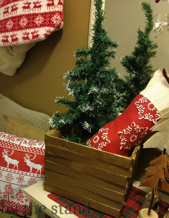Transform a simple box with wood shims