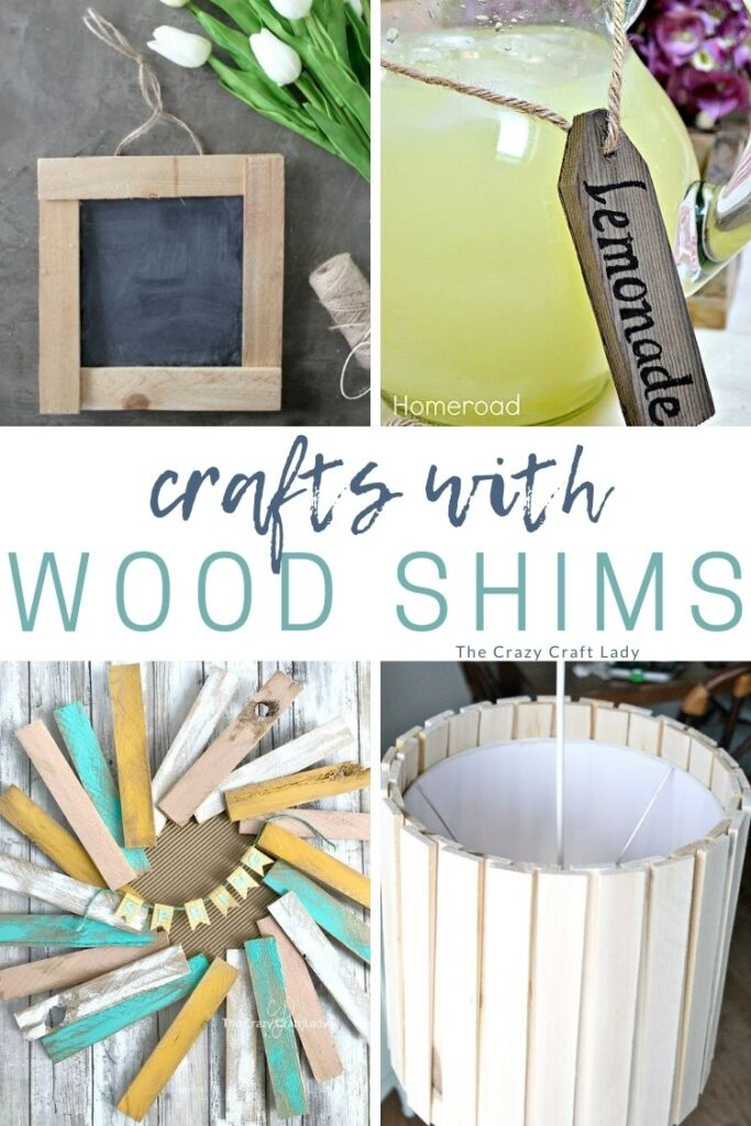 crafts with wood shims - make these DIY home decor projects and creative crafts with simple and inexpensive wood shims