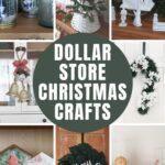 12 EASY Dollar Store Christmas DIYs