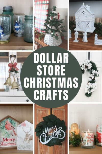 12 EASY Dollar Store Christmas DIYs