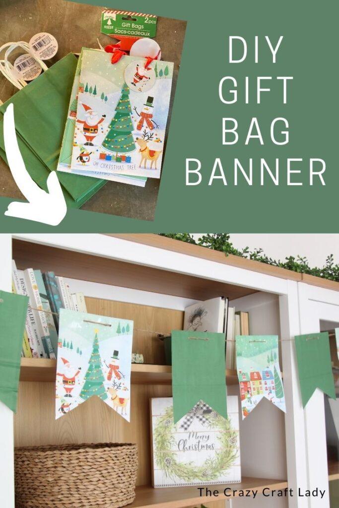 DIY Gift Bag Banner