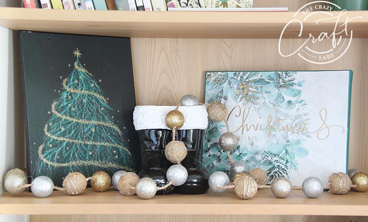 Gift Bag Canvas Christmas Art