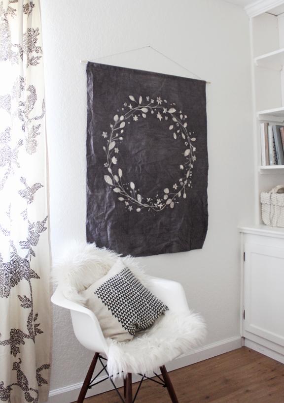 batik dye tapestry diy