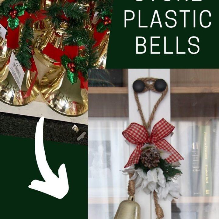 dollar store plastic bells