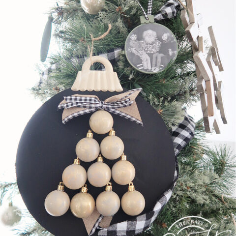 Mini Ornament Tree Craft