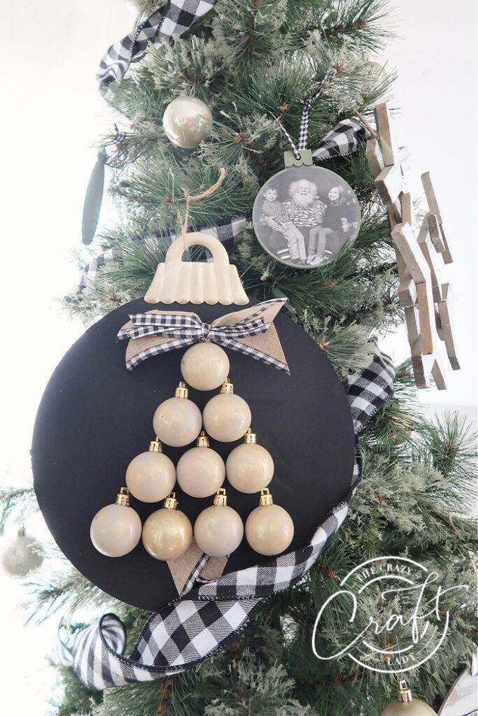 Mini Ornament Tree Craft