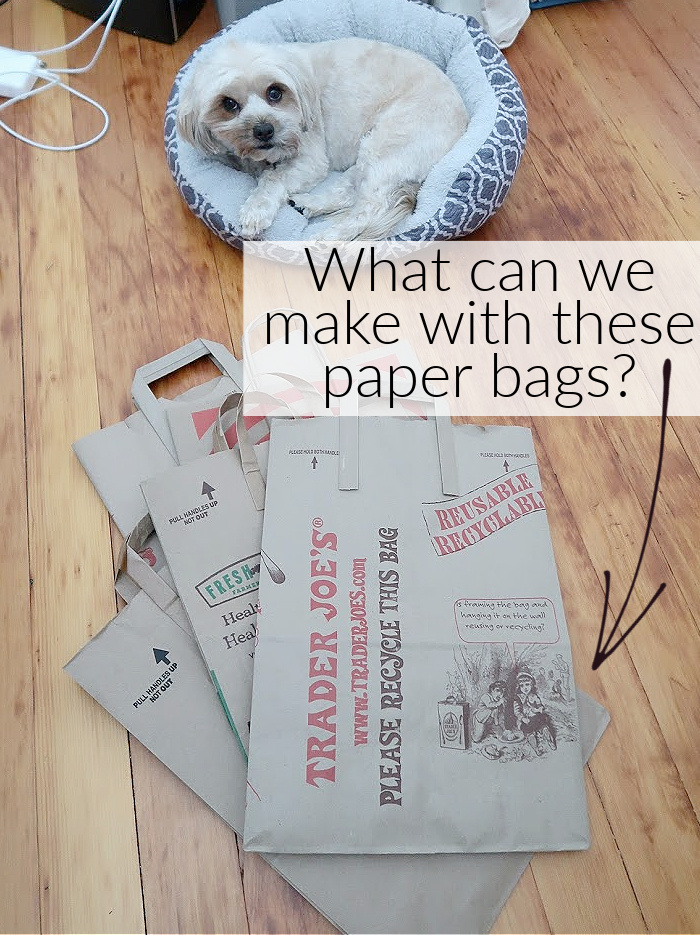 What can we make with these paper bags