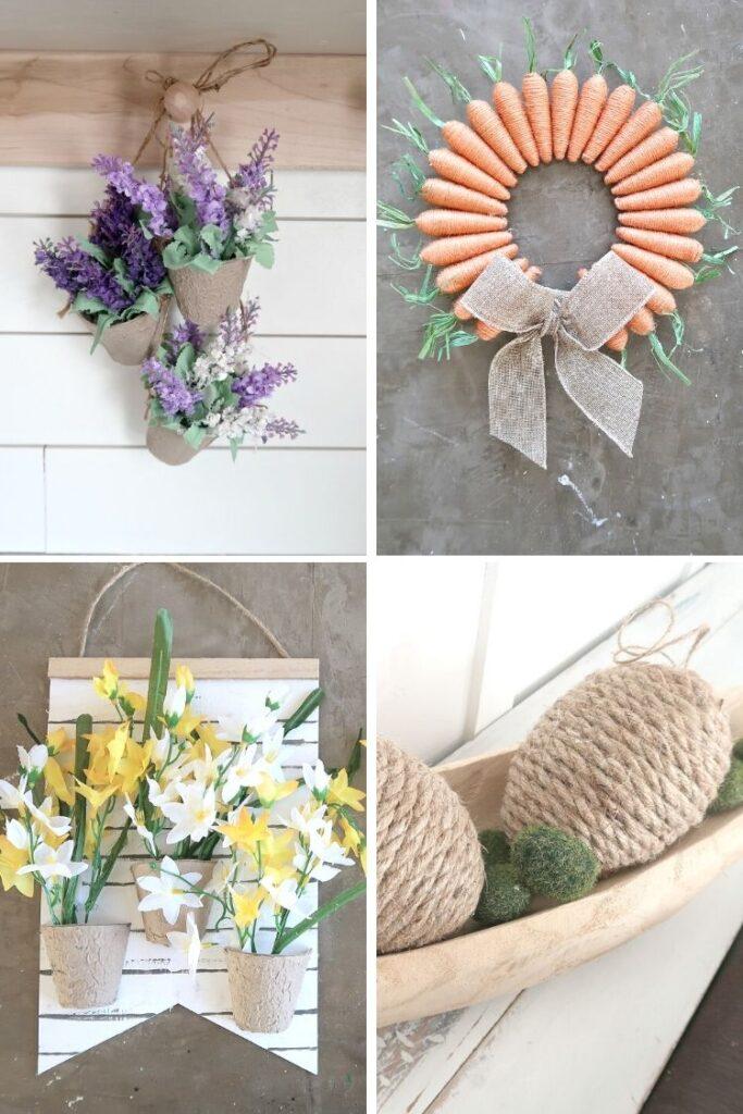 4 dollar store spring crafts