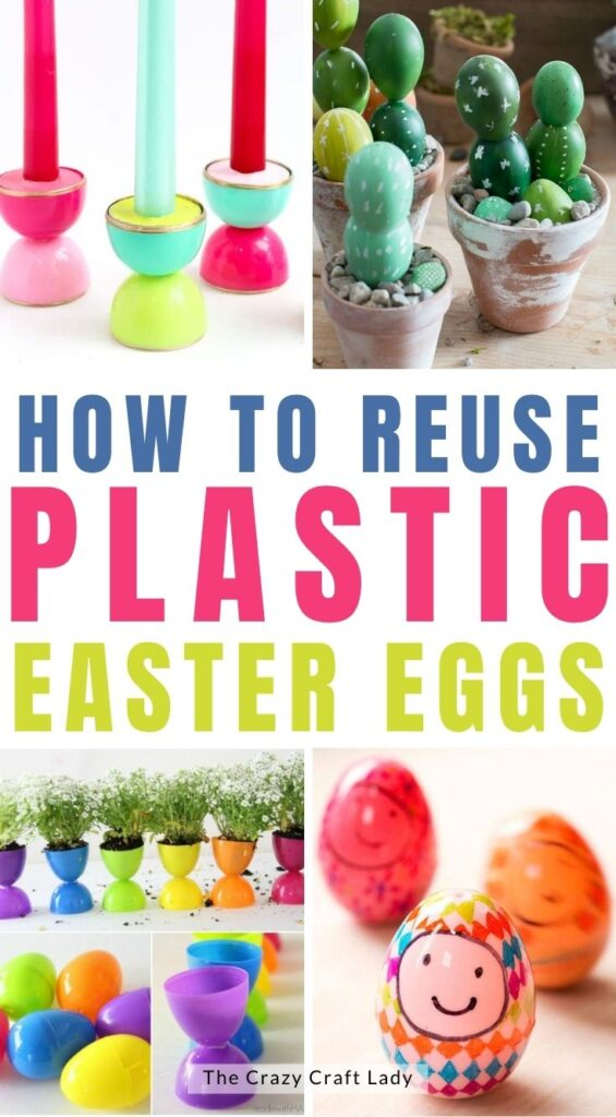 How to reuse plastic Easter eggs