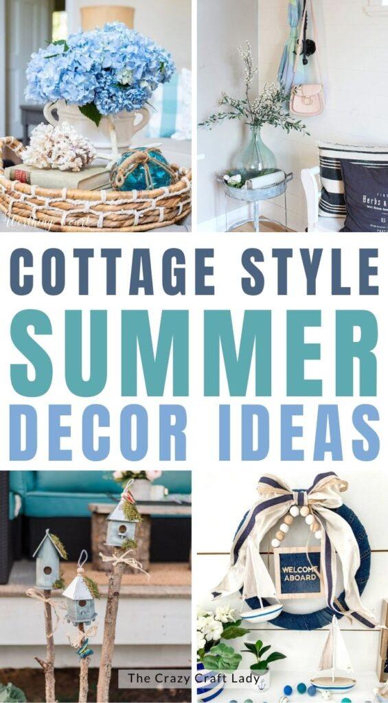 Cottage Style Summer Decor
