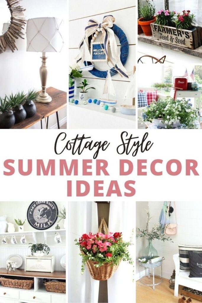 Cottage Style Summer Decor Ideas