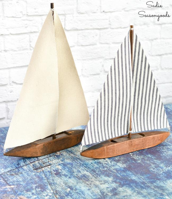 Rustic Sailboat Decorations