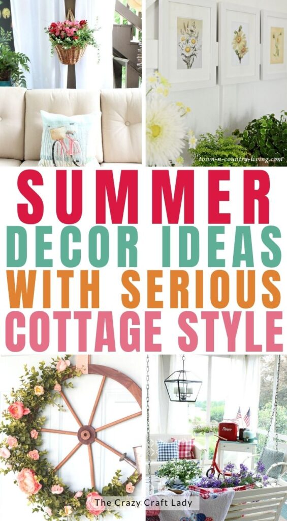 Summer Decor Ideas with Cottage Style