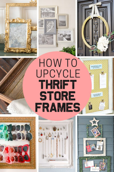15 fun ways to upcycle thrift store picture frames