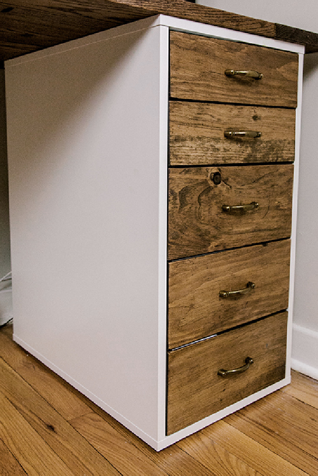 Alex Drawer Upgrade With Wood