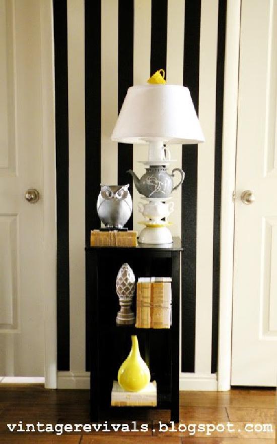 Anthropologie-Inspired Teapot Lamp