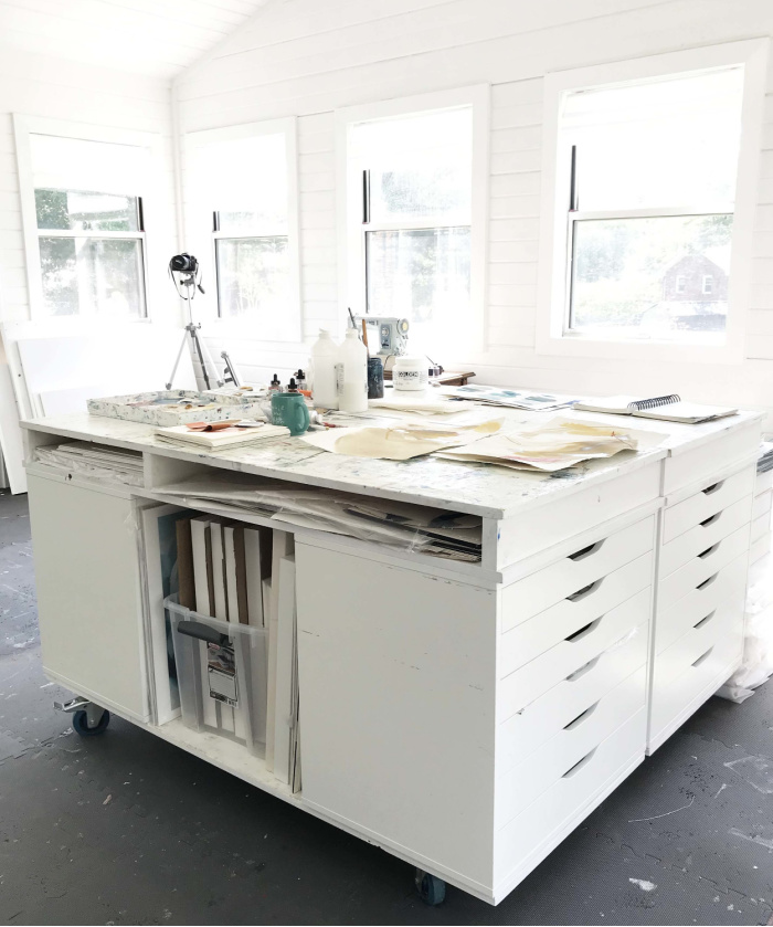 Creating A Custom Art Studio Table