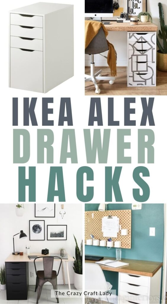 Creative Ikea Alex Drawer Hacks