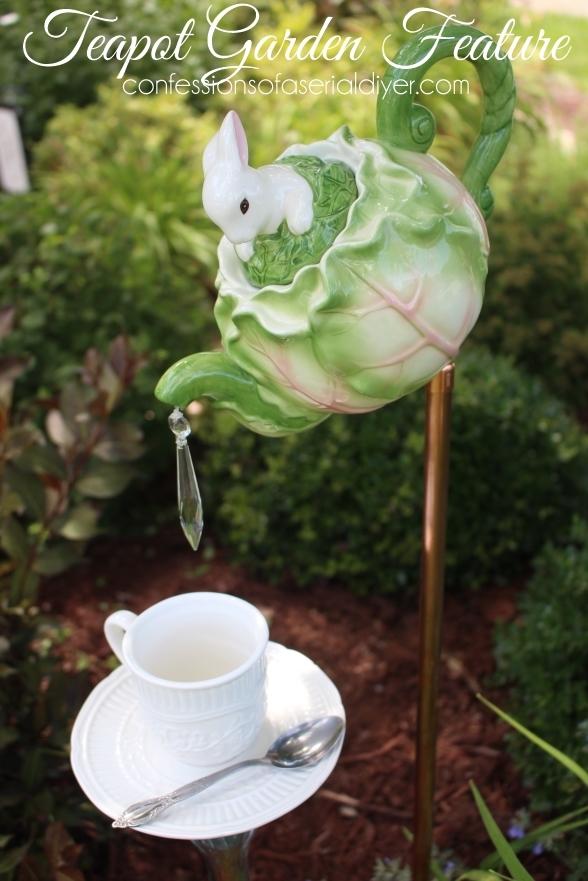 DIY Teapot Garden Feature
