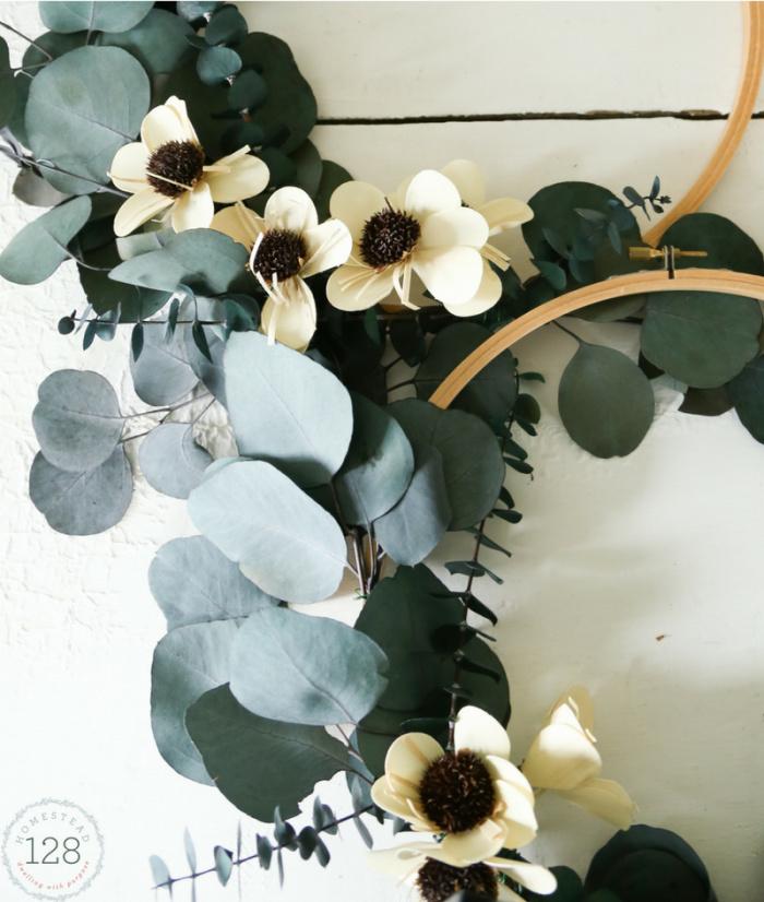 Eucalyptus Hoop Wreath DIY Tutorial