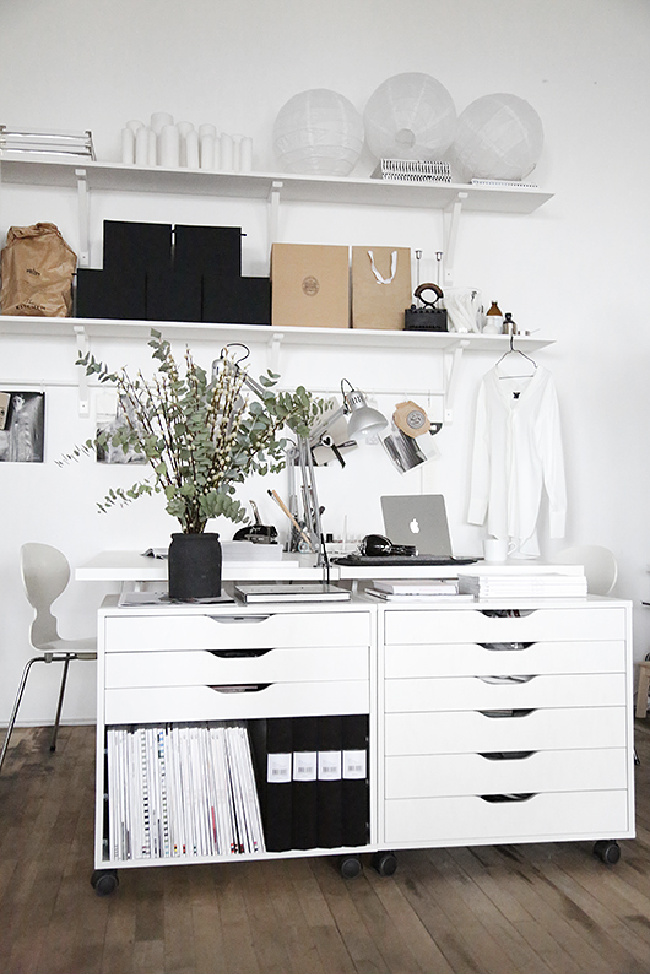 Extra Office Storage with Alex Drawers